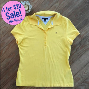 342c0663 Tommy Hilfiger Tops - Tommy Hilfiger Women's Yellow Polo (M)